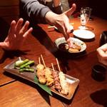 北海道海鮮・個室情緒 ~23番地~ - どれを食べるか、ジャンケン大会