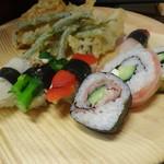 旬菜食健 ひな野 - 野菜寿司