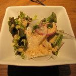 肉料理 将 - サラダ付き