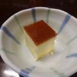 旬菜食健 ひな野 - チーズケーキ