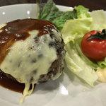 On Fleek kitahama - チーズハンバーグ