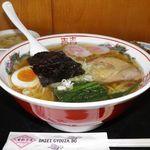道の駅 ふくしま東和 あぶくま館 - 料理写真:中華そば 700円