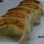 岐阜屋 - 今日の焼き餃子は整ってました。