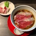 柳麺 呉田 - 3周年限定「3年そば」1300円