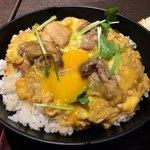高田屋 - 炭火焼鶏の親子丼 リピ決定、美味しいです!
