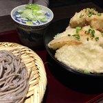 高田屋 - おつれさま とり天丼のセット