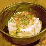 ほろよい食堂 がじろう飯店 - 白いあんかけ麻婆豆腐