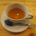 スローフードカフェ ふわり - りんご番茶