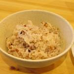 スローフードカフェ ふわり - 古代米ごはん