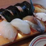 鮨吉 - すし定食 900円