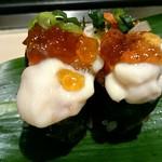 寿司 魚がし日本一 - 白子ポン酢