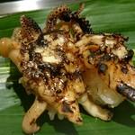 寿司 魚がし日本一 - 焼きゲソマヨ