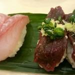 寿司 魚がし日本一 - 黒鯛 くじら