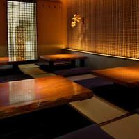 鳥良 - 【掘り炬燵席】人気の完全個室。16名様まで。