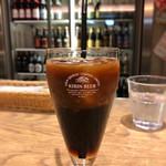 世界のビール博物館 - ドリンクバーのアイスコーヒー