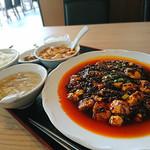 80591233 - 激辛麻婆豆腐定食