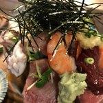 江戸富士 - 海鮮丼