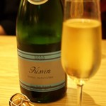 SARU Wine Japan Bistro - キスヴィン甲州スパークリング
