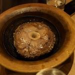 SARU Wine Japan Bistro - SARU特製 豪快マグロの希少部位ステーキ