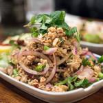 バンタイ - 2018.2 ラープガイ(1,200円)鶏挽肉と香辛料のサラダ