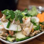 バンタイ - 料理写真:2018.2 ヤムチャオタレー(1,400円)海の幸入り辛口サラダ