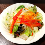 いきなりステーキ - 料理写真:サラダ