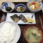 うちの食事の店 - 焼魚定食=550円