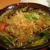 料理人 江川 - 料理写真:大浦ゴボウ姫海老つけそば