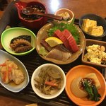 千乃舎 - 料理写真:9品盛り合わせ