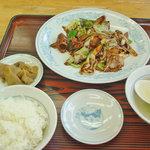 806199 - ホイコーロセット(ご飯-小-)これに餃子が付きます