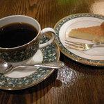 珈琲舎 蔵 - コロンビアとチーズケーキ
