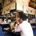 手打うどん すみた - 「すみた」旧店舗の店内 (2008.10)
