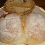 パンのいのまた - 定番のソフトフランスと自家製ピーナツクリーム