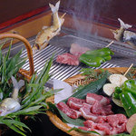 黒茶屋 - 料理写真:炭火焼き
