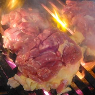 川田屋 - 料理写真:焼いている所