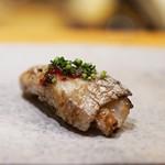 天寿し - 太刀魚の砂摺り