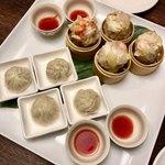 美食天堂 金威 - 点心2種(小龍包・海老焼売)