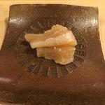 旬美にしかわ - 真珠貝の貝柱。粕漬け。