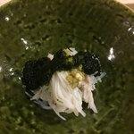 旬美にしかわ - 蟹と海苔