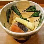 日本料理 きた川 - ☆琵琶鱒と筍