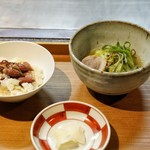 日本料理 きた川 - ☆蛍烏賊の炊込みご飯