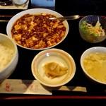 sai-蓮花 - 四川麻婆豆腐定食950円