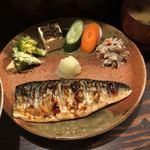 80609213 - 鯖の塩焼き定食