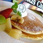カインズ カフェ - フレッシュフルーツパンケーキ \700  (ご注文は14::00からお願いします。)