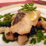 Restaurant あずま屋 - 本日のお魚♪周りはカリッとして、中はしっとり。技ですね♪