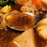 ガネー舎 - とりの旨みが凝縮したスープ!