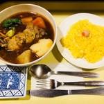 ガネー舎 - とり野菜カリィ(1,350円)