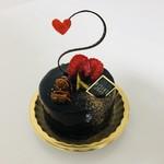 ポアール・アントレ - ショコラ・ピスターシュ   濃厚なショコラです(^○^)