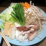 富士鷹 - ちゃんこ鍋(野菜・きのこ)