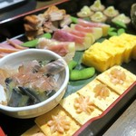 富士鷹 - 前菜盛り合わせ